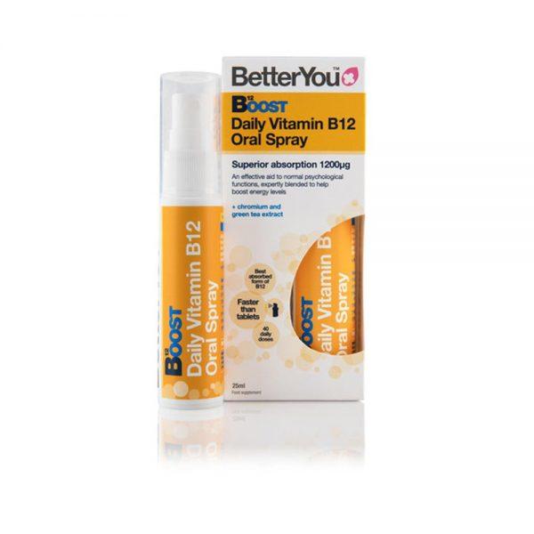 Vitamin B12 BOOST u spreju, 25 ml